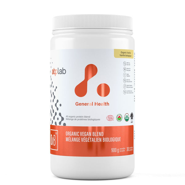 ATP LAB ORGANIC VEGAN BLEND 900G Supplements ATP Lab Organic Vanilla