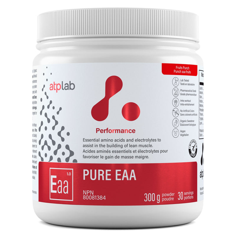 ATP LAB PURE EAA 300G Supplements atplab Fruit Punch