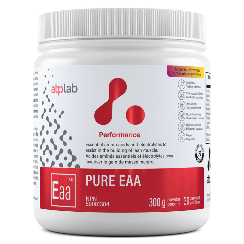 ATP LAB PURE EAA 300G Supplements atplab Mixed Berry Lemonade
