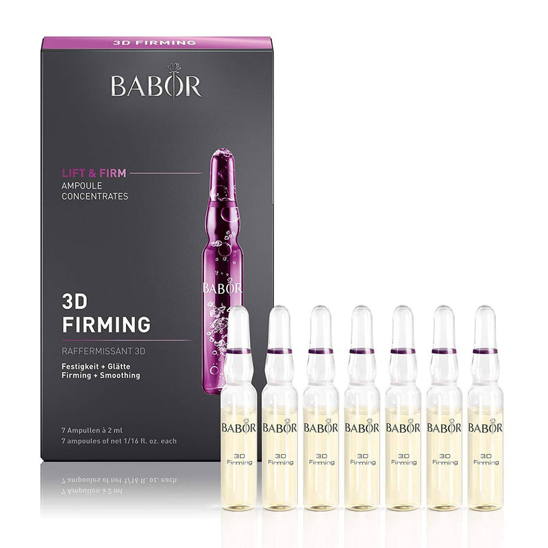BABOR 3D FIRMING AMPOULES Ampoule Serum Concentrate Babor 7 x 2 ml