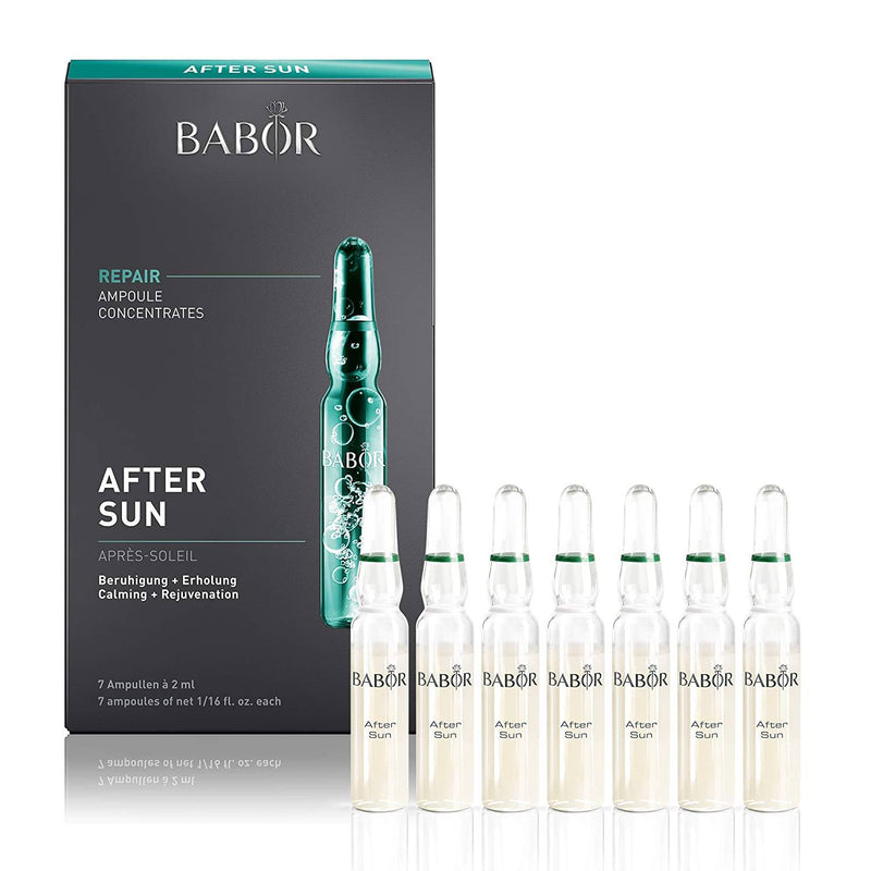 BABOR AFTER SUN AMPOULES Ampoule Serum Concentrate Babor 7 x 2 ml