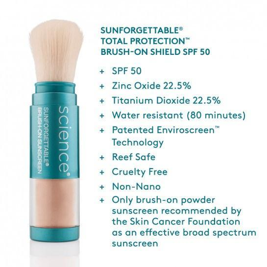 COLORESCIENCE ENVIROSCREEN™ PROTECTION BRUSH-ON MULTI-PACK: 3 BRUSHES SPF 50 SPF Colorescience