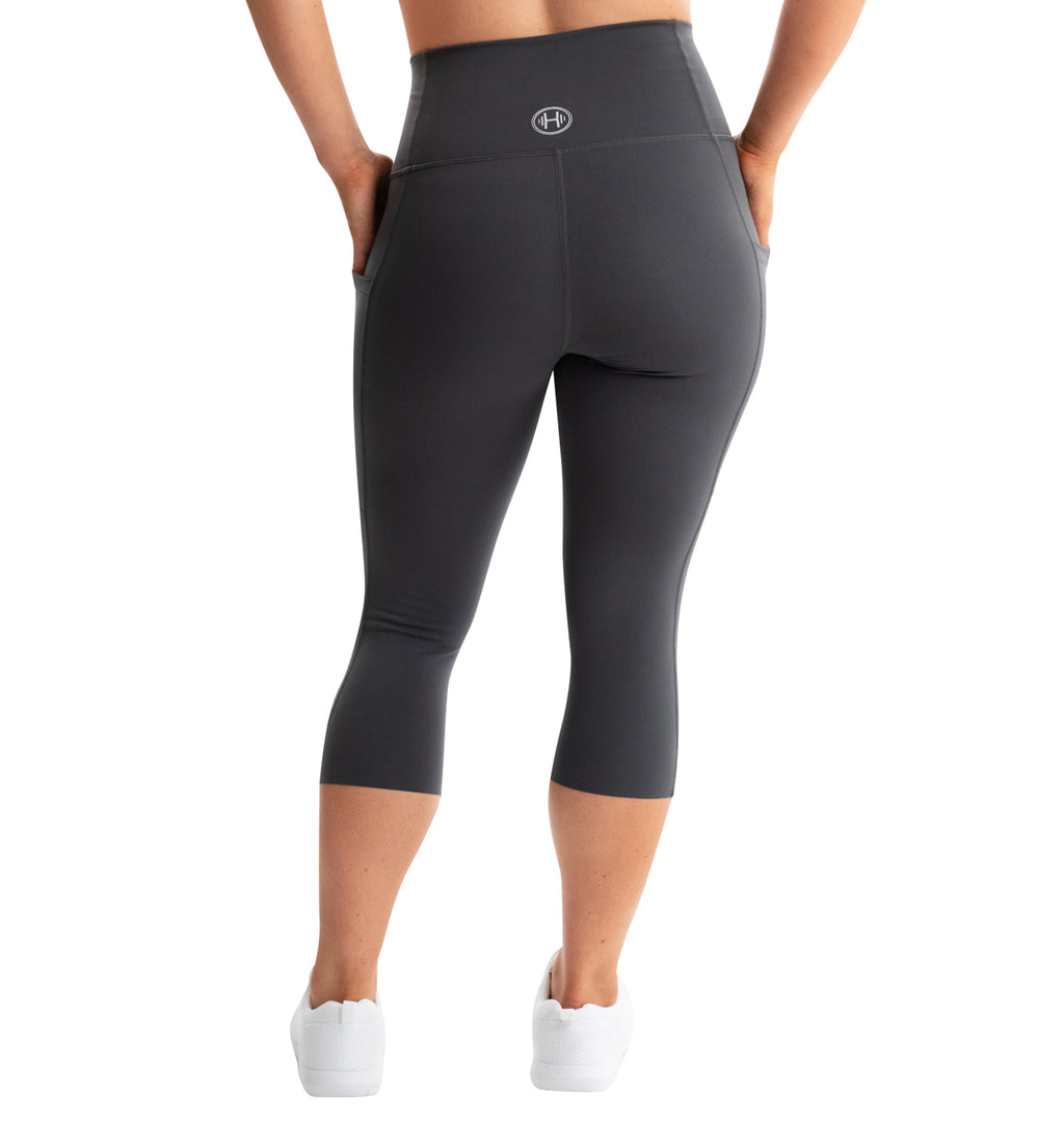 CHARCOAL POCKET LEGGINGS