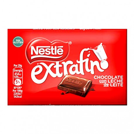 Chocolate Nestle Extrafino