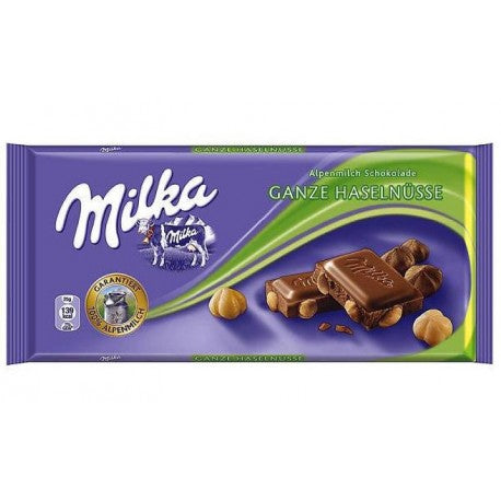 Chocolate Milka Avellanas