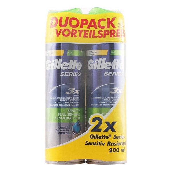 Gel de Afeitar Series Gillette (2 pcs)