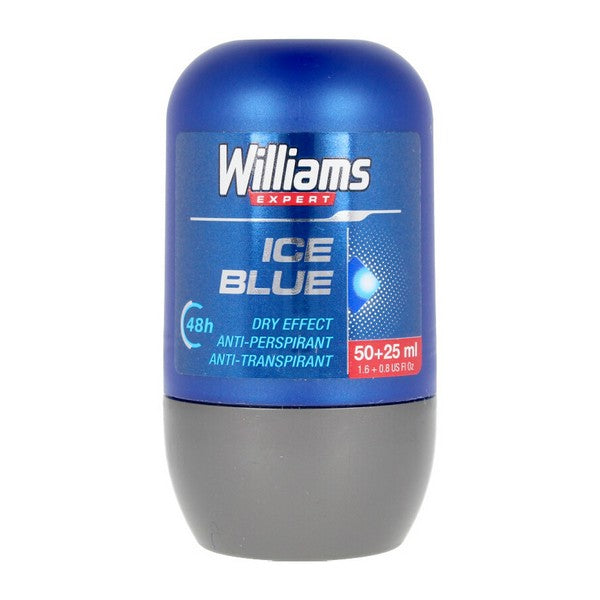 Desodorante Roll-On Ice Blue Williams (75 ml)