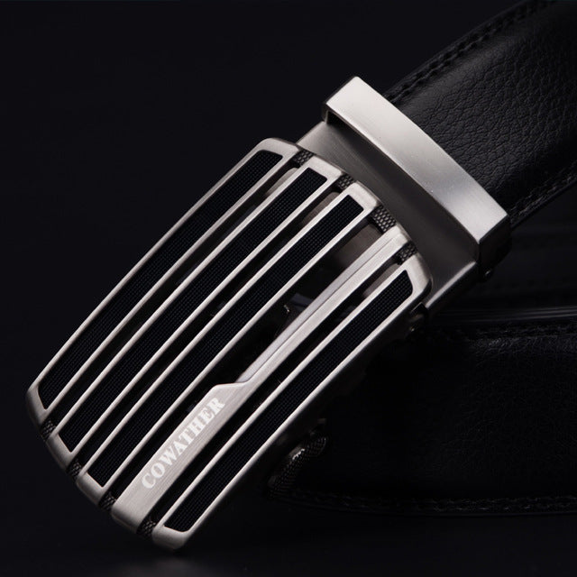 Fashion Mens Belts Genuine Leather Straps Cintos Original Waistbands For Mens With Jeans.