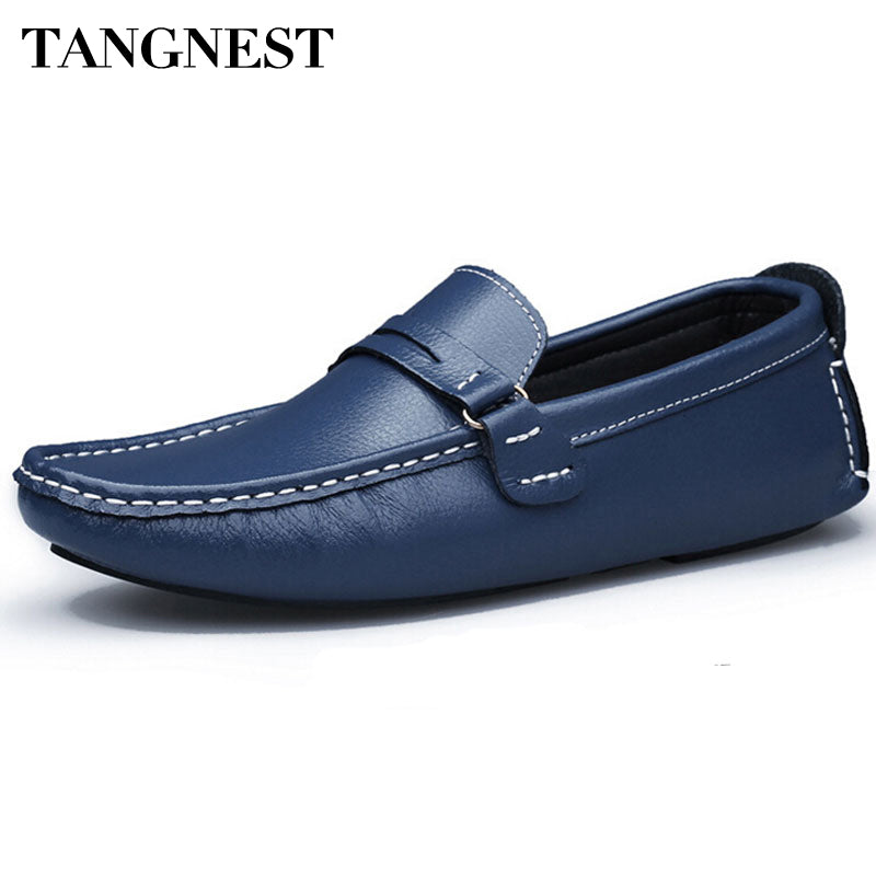 Men Loafers 2017 PU Leather Men Leisure Shoes Comfortable Men Driving Shoes High Quality Men Shoes Big Size 38~47 XMR1345 - Next New Fashion