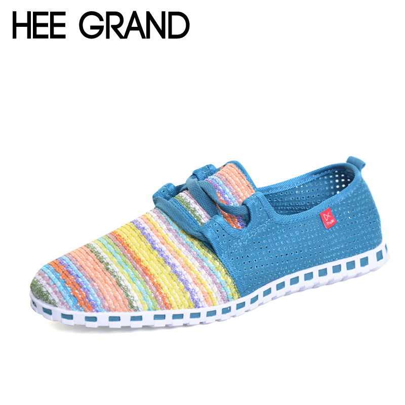 HEE GRAND Casual Men Shoes 2017 New Summer Flats For Man Soft Comfortable Breathable Mesh Shoes Man 3 Colors Size 39-44 XMF263 - Next New Fashion