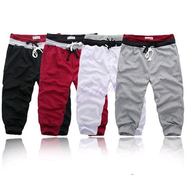 Dance Baggy Jogger Casual Men Harem Trousers Shorts Slacks - Next New Fashion