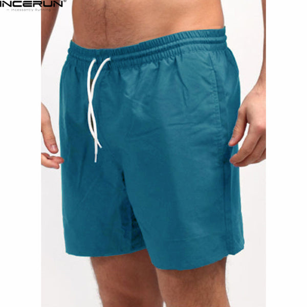 INCERUN Summer Men's Quick Dry Shorts 5XL 2018 Casual Men Beach Shorts Breathable Trouser Male Shorts Brand bermuda masculina - Next New Fashion