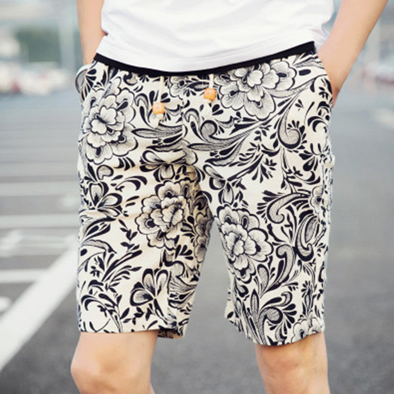 New Quick Dry Loose Hawaii Shorts Men Shorts Brand Casual Beach Short Homme Bermuda Summer Men's Printed Board Shorts - Next New Fashion