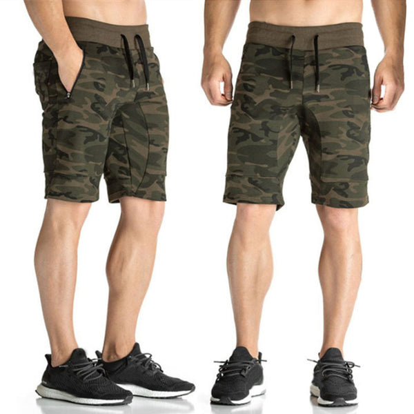 Summer Men Knee-Length Shorts Sporting Bermuda Shorts Drawstring Men Sweatpants Bodybuilding Fitness Gyms BoardShorts Joggers - Next New Fashion