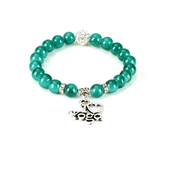 I Love Yoga Bracelet - Next New Fashion