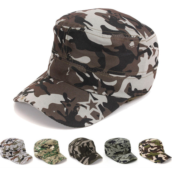 Unisex Fashionable Men Women Sun Visor Army Camouflage Baseball Cap Woman Man Snapback Soldier Combat Hat Cotton  Cap - Next New Fashion