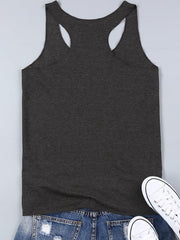 Summer Sleeveless Vintage O-Neck Cotton Shirt-TOPS-Wotoba-Black-M-Wotoba
