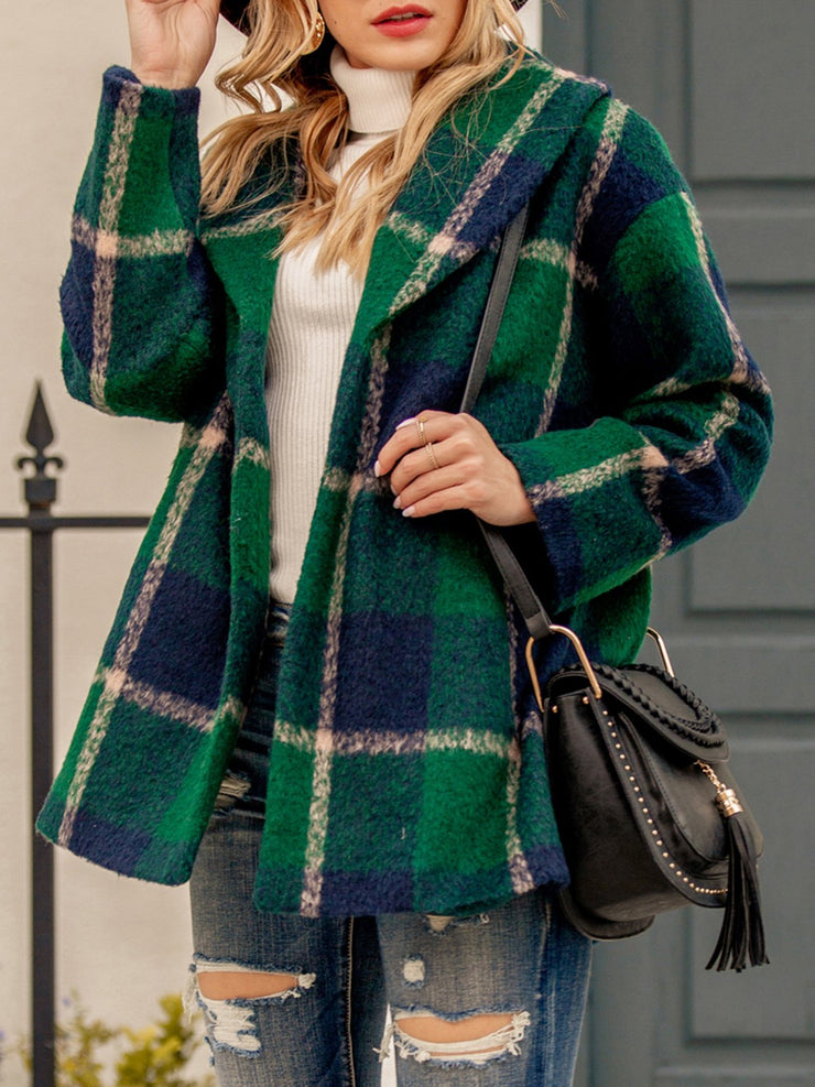 Checkered/plaid Long Sleeve Outerwear