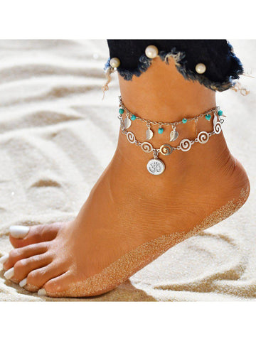 Women Multi-Types Anklets-Accessories-Wotoba-color6-One-size-Wotoba