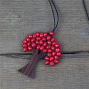 Vintage Casual Daily Necklace-ACC-Wotoba-Red-One-size-Wotoba
