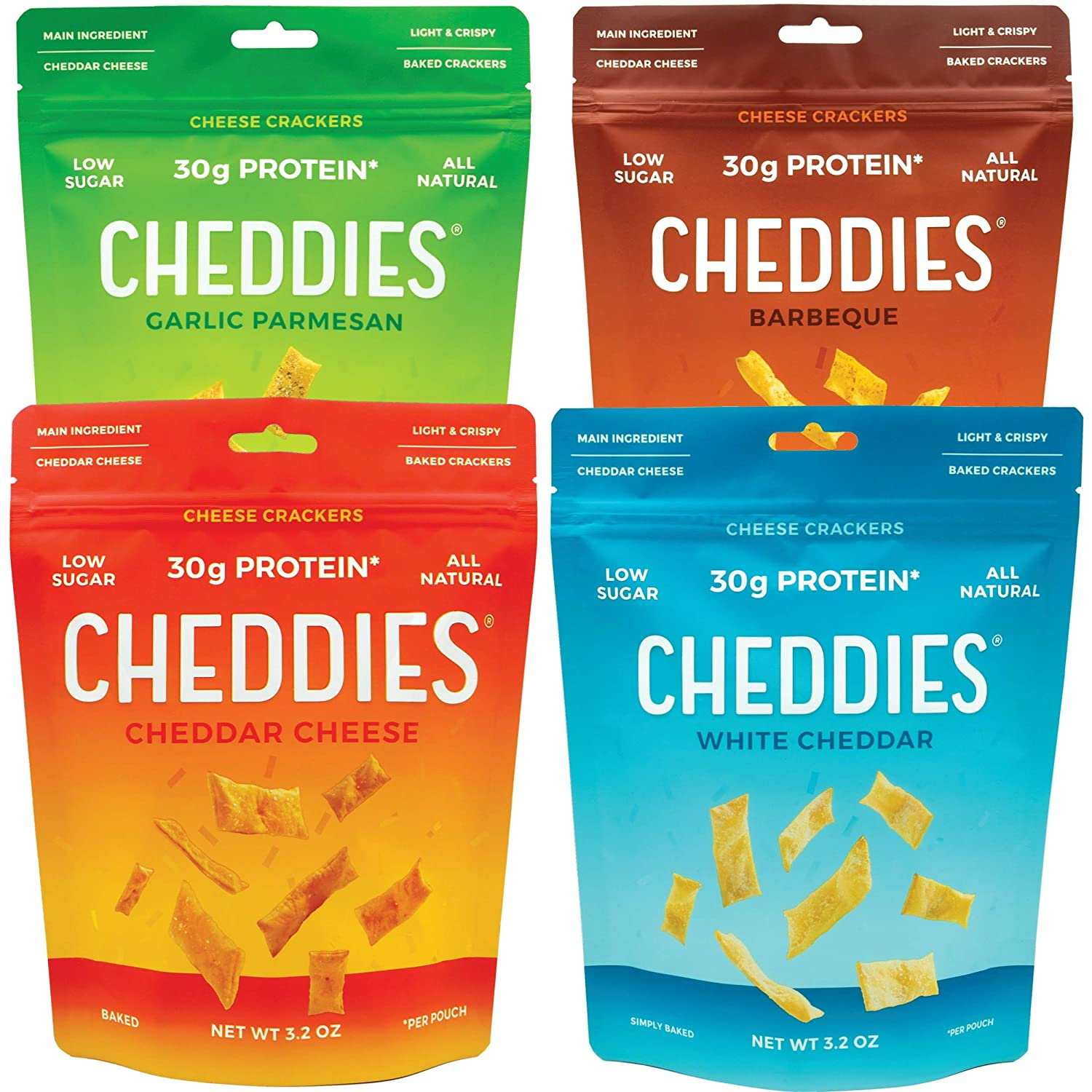 Cheddies Cheese Crackers - Variety Pack Bundle