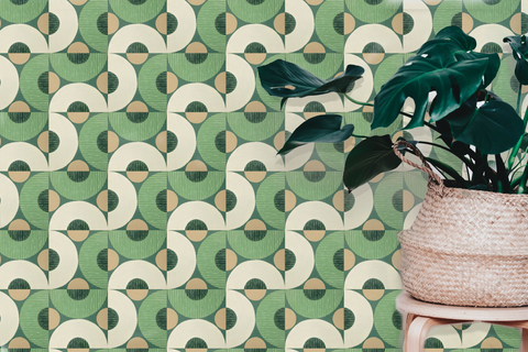 Arlo Green Wallcovering