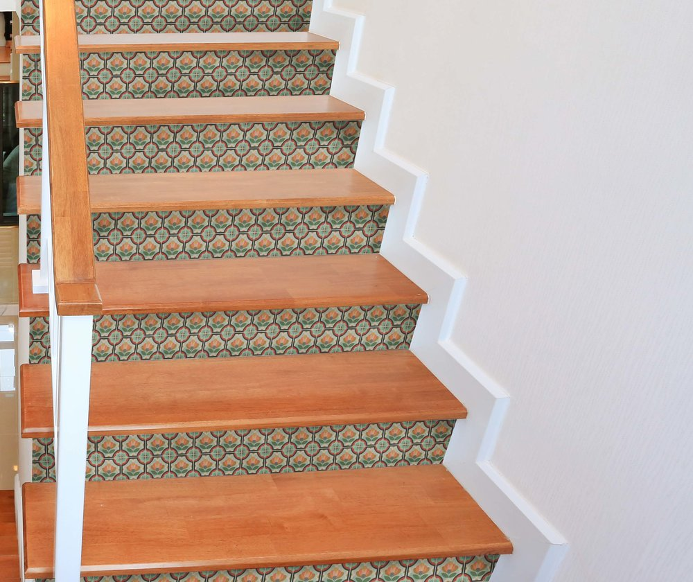 Blossom Stair Riser Decal