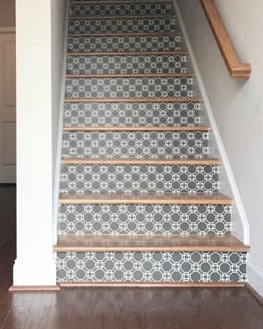Ring Stair Riser Decal