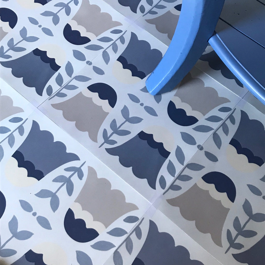 Lisse Peel & Stick Decorative Floor Decals
