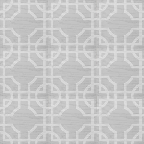Macau Platinum White Hardwood Tile