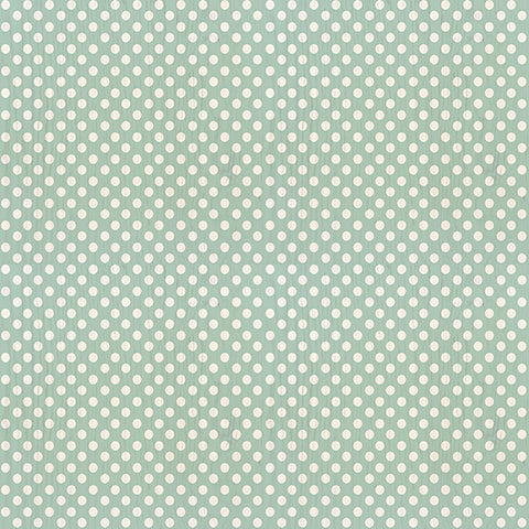Polka Dot Mint Peel & Stick Decorative Decals