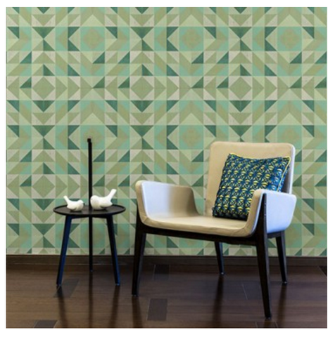 Lively Mint Wallcovering