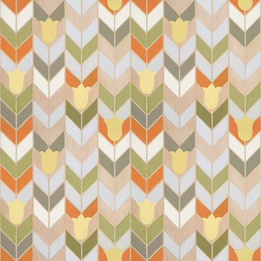 Mirthful Chevron Wallcovering