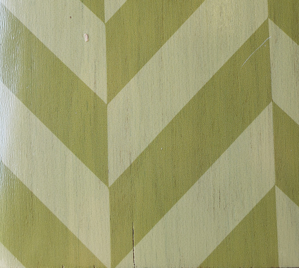 Green Lattice Patchwork Hardwood Tiles - Lot
