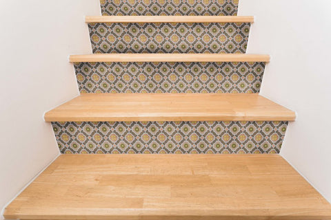 Mirthful Stair Riser Decal