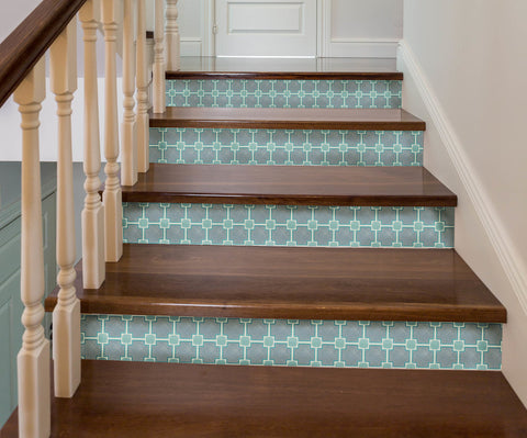 Palm Beach Stair Riser Decal