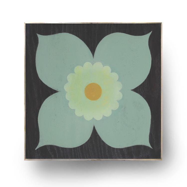 "Poppy Mint (12"" Scale) Wall Art"