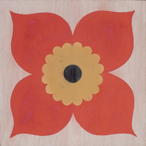 Poppy Coral Hardwood Tile