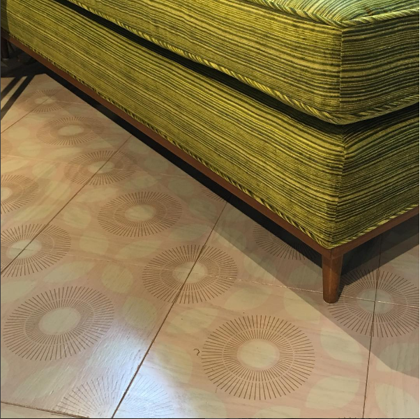 Golden Rays Hardwood Tile