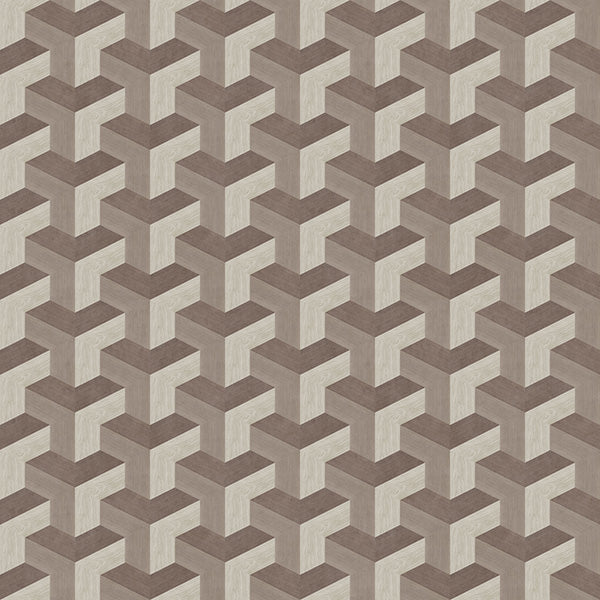 Tessellation Gray Hardwood Tile