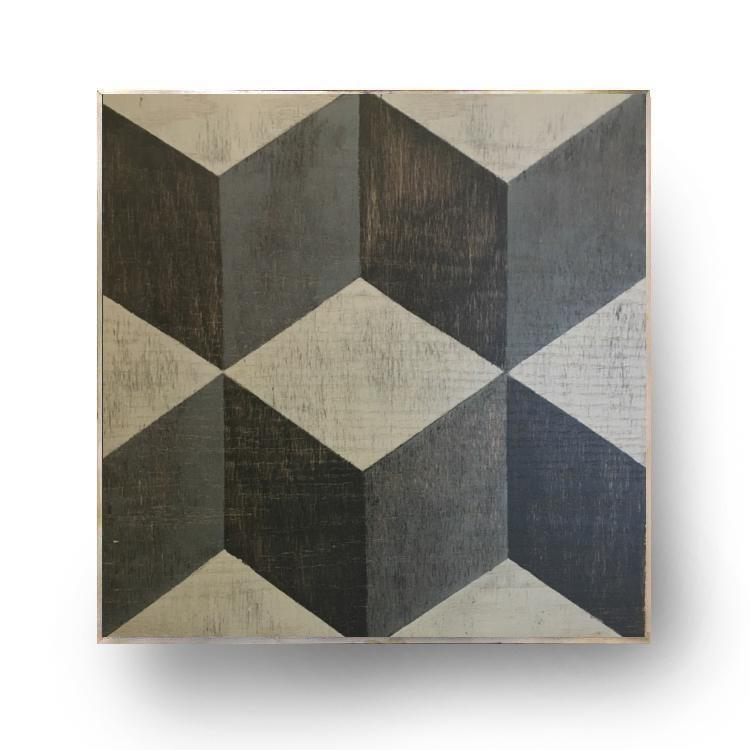 Tumbling Blocks Wall Art