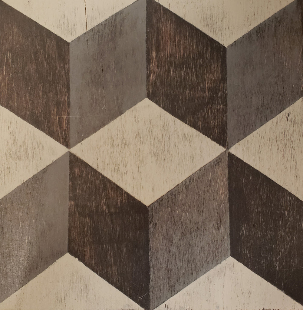 Lux Patchwork Hardwood Tiles - Lot
