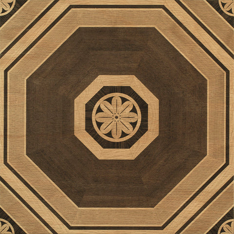 Stately Octagon Natural Hardwood