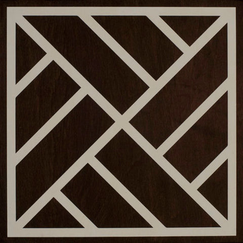 Peninsula Ebony Cream Hardwood Tile