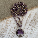 Breath of Life Knotted Mala