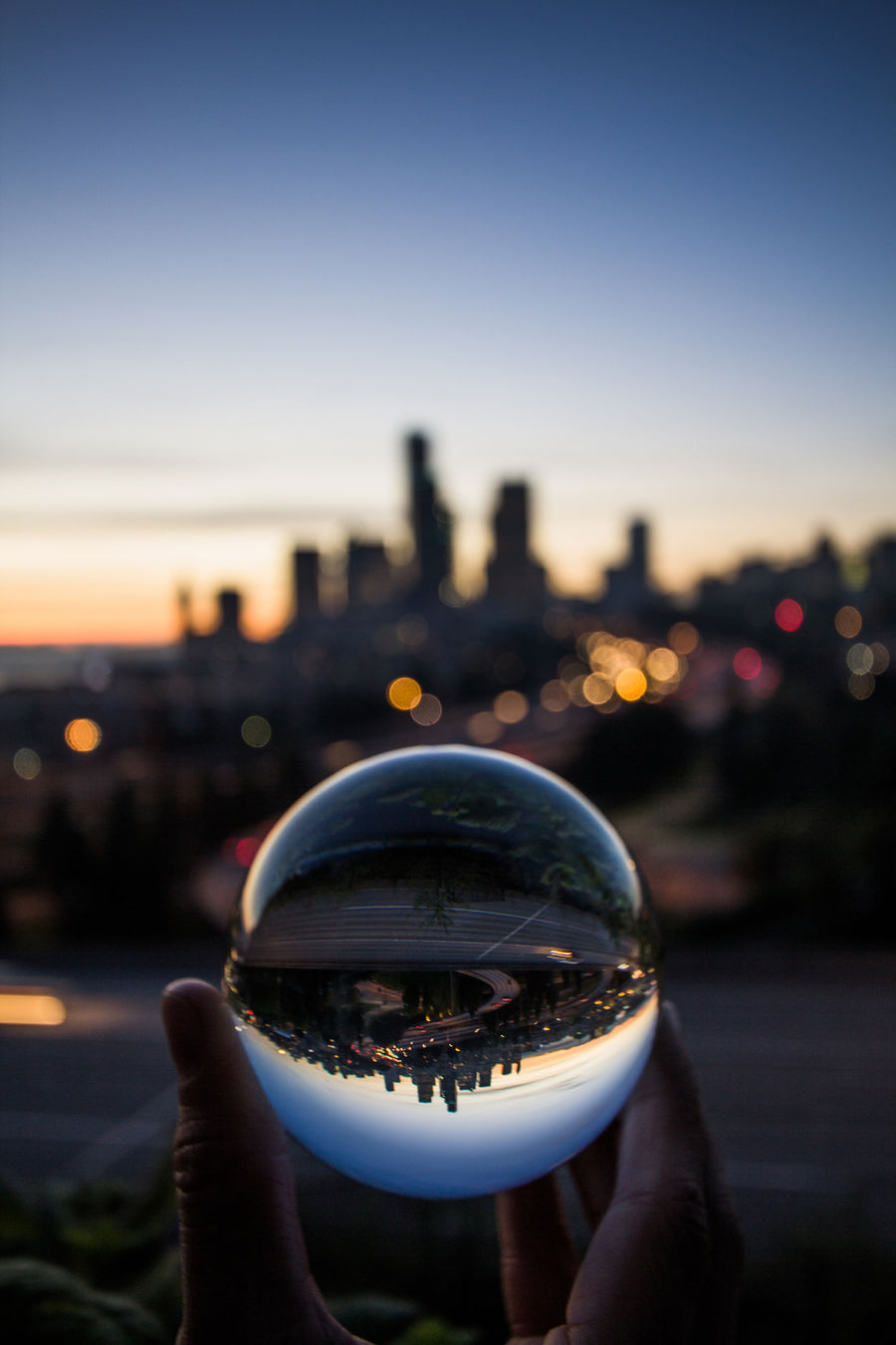 DOWNTOWN SEA LENSBALL