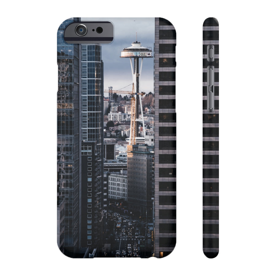 DOWNTOWN & SPACE NEEDLE PHONE CASE