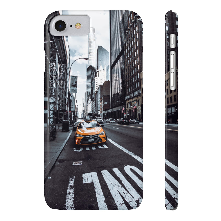 NYC TAXI CAB PHONE CASE