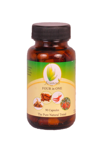 Four-in-One 90 Capsules - 500mg