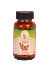 Ginger 90 Capsules - 500mg